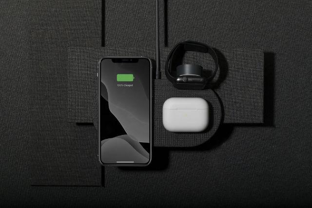 Cargador inalámbrico multidispositivo Native Union Drop XL Watch Edition