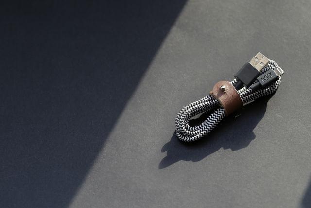 Cable de conexión USB-A a Lightning de Native Union Belt