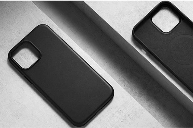 Funda iPhone 13 Pro Nomad Modern Case marrón