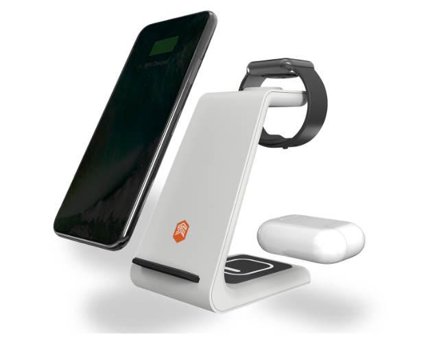 Base de carga inalámbrica para iPhone, Airpods y Apple Watch de STM