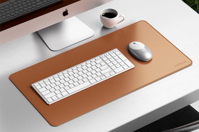Satechi Deskmate Eco-Leather alfombrilla piel para escritorio