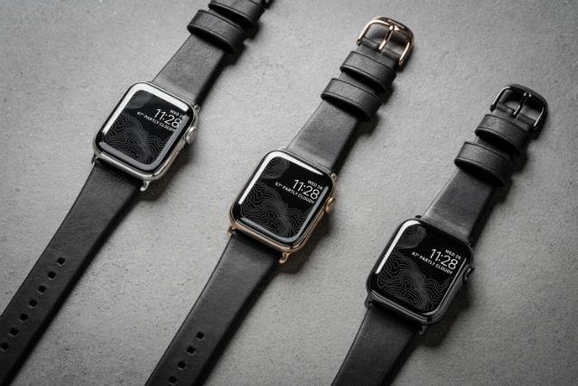 Correa Nomad para Apple Watch 38/40mm en color negro de Nomad Goods.