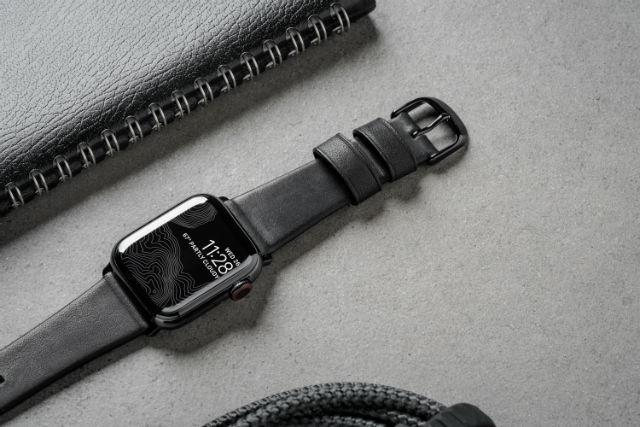 Correa Nomad Modern para Apple Watch 38/40mm en color negro de Nomad Goods.