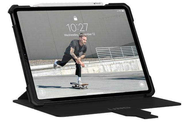 "Funda UAG Metrópolis iPad Pro 12,9"" 5ª Gen 2021 color negro"