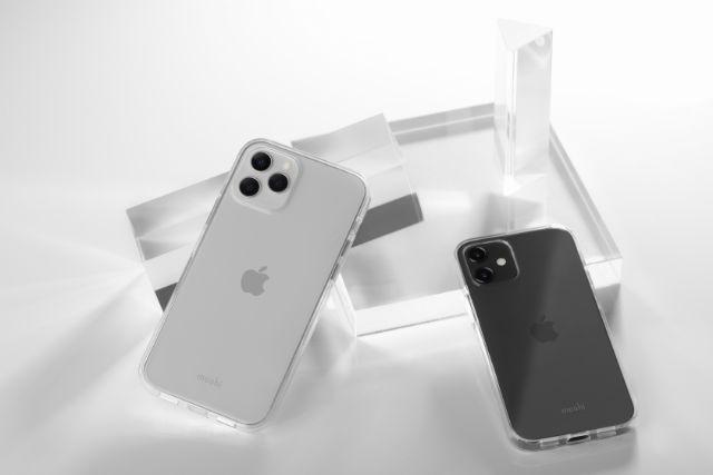 Vitros de Moshi es una funda transparente y resistente para iPhone 12 / 12 Pro