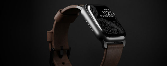 Correa piel Nomad para Apple Watch 38/40 Modern
