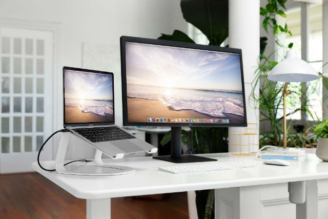 Twelve South Curve soporte para MacBook blanco