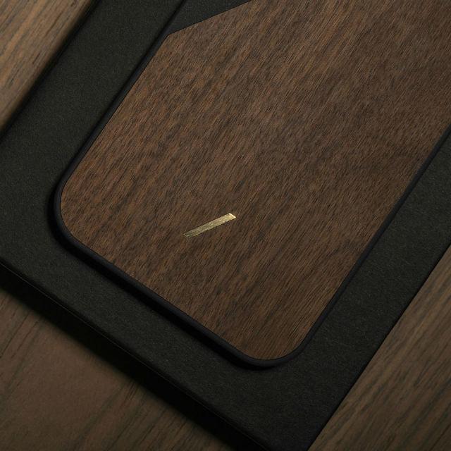 Native Union carcasa en madera para iPhone 12 Pro Max Clic Wooden
